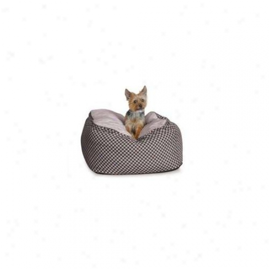 K&h Pet Products Kh7515 Deluxe Cuddle Cube Medium Black 26 Inch X 26 Inch X 12 Inch