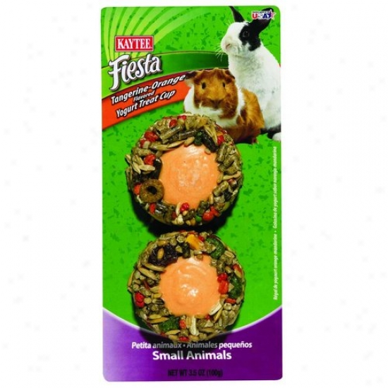 Kaytee 100504120 Fiesta Yogurt Cup Small Animal