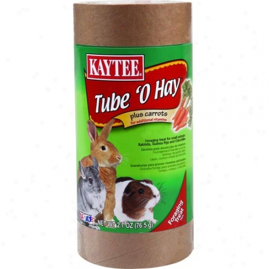Kaytee 100505072 Tube O Hay Plus