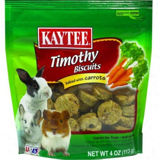 Kaytee 100505091 Timothy Hay Baked Small Animal Treat