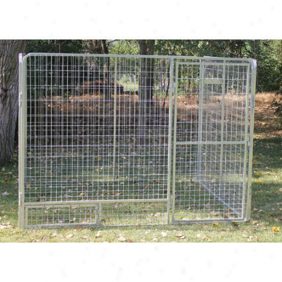 Kennnel Pro Basic Galvanized Steel Dog Kennel