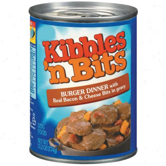 Kibbles 'n Bits Burger Dinner With Bacon And Cheese, 13.2 Oz