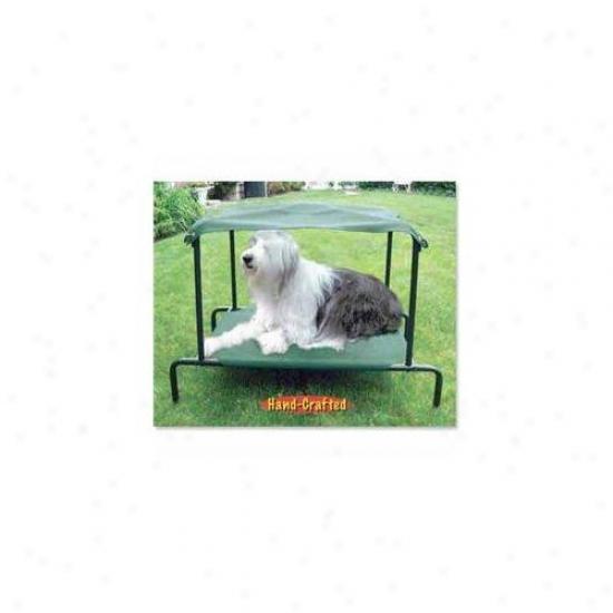 Kittywalk Pwbb100 Puppywalk Breezy Bed Medium Green 28 Inch X 20 Inch X 25 Inch