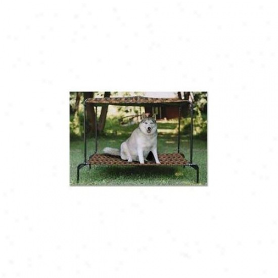Kittwalk Pwbbulr Puppywalk Breezy Bed Ultra Royale 48 Inch X 39 Inch X 39 Inch Up To 120 Lbs.