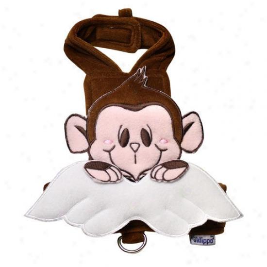 Klippo Pet Adorable Monkey Angel Dog Harness