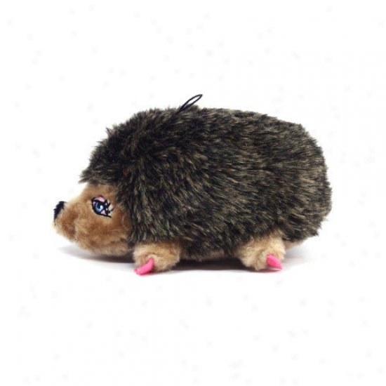Kyjen Plush Puppies Girl Hedgehog Dog Toy
