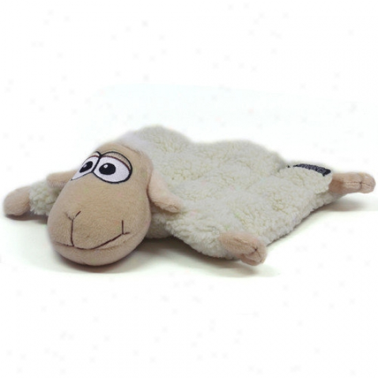 Kyjen Plush Puppies Sheep Squeaker Mat For Dog