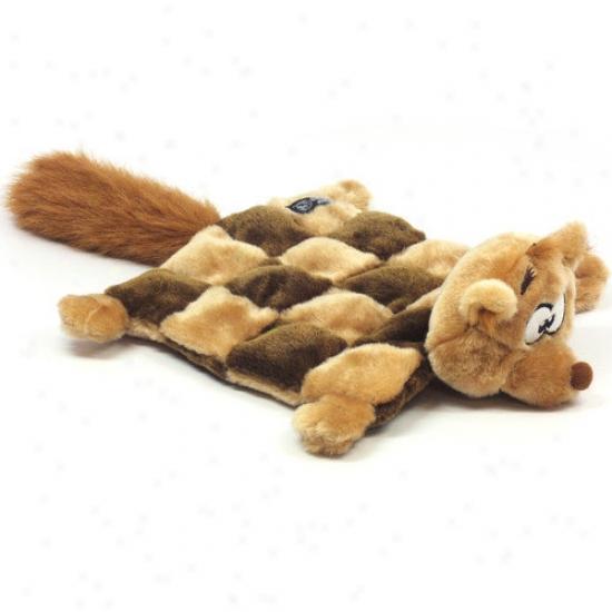 Kyjen Plush Puppies Squirrel Sqieaker Mat For Dog