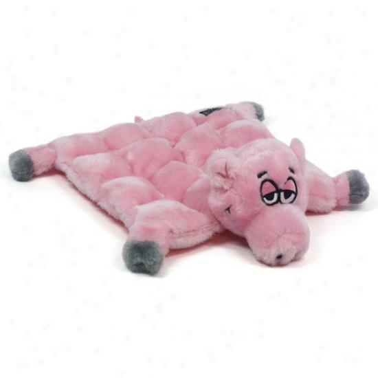 Kyj3n Squeaker Mat Large Pork Dog Toy