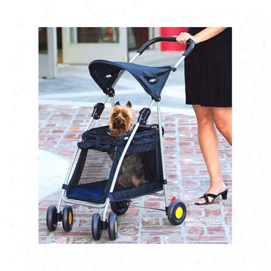Kyjen Walk'n Roll Pet Stroller In Blue