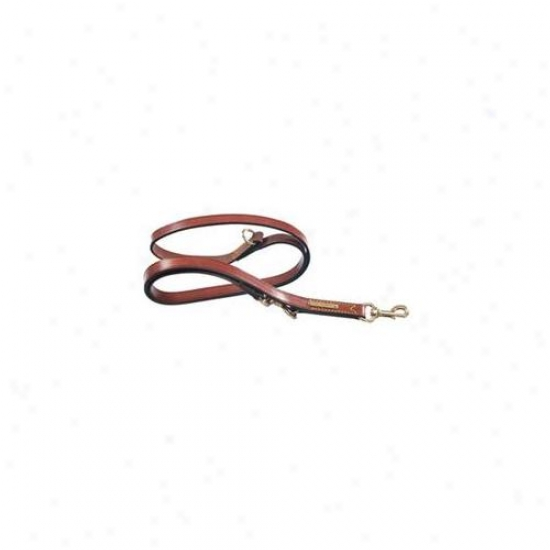 La CinopelcaR 115 . 75 Inch X 70-. 8 Inch Doubling Training Leash- Brown