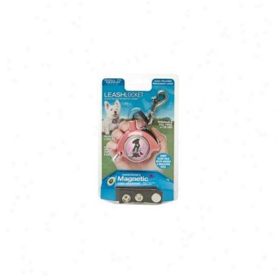 Leashlocket Ll-pn-sm-1 Single Pink Small Leash