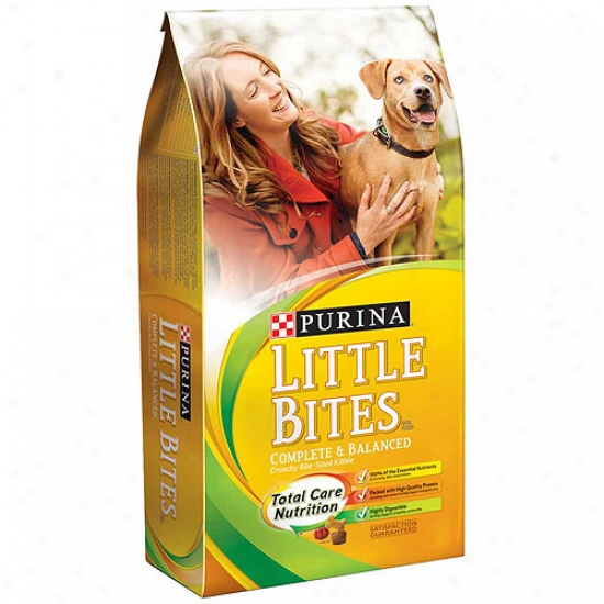 Little Bites Crunchy Bite-sized Kibble Dog Food, 16.5 Lbs