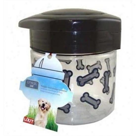 Lixit Corporation 30-0064-012 64-ounce Soft Dog Treat Jar