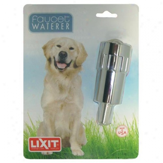 Lixit Corporation 30-0840-036 Dog Faucet Waterer