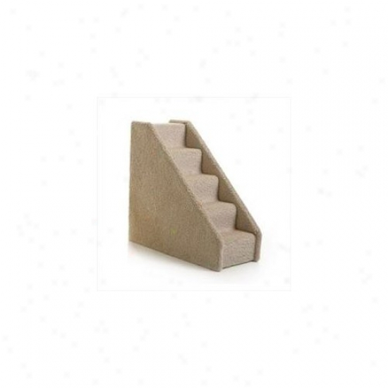 Lucky Cat Small Solid Side Pet Staircase - Six Step
