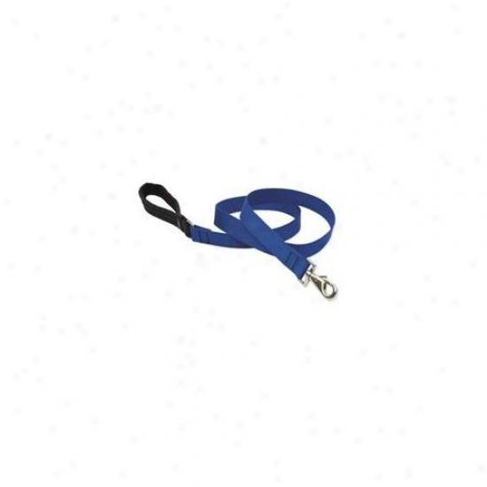 Wolfish 17559 1 Inch Blue 6 Ft.  Padded Handle Dog Leash