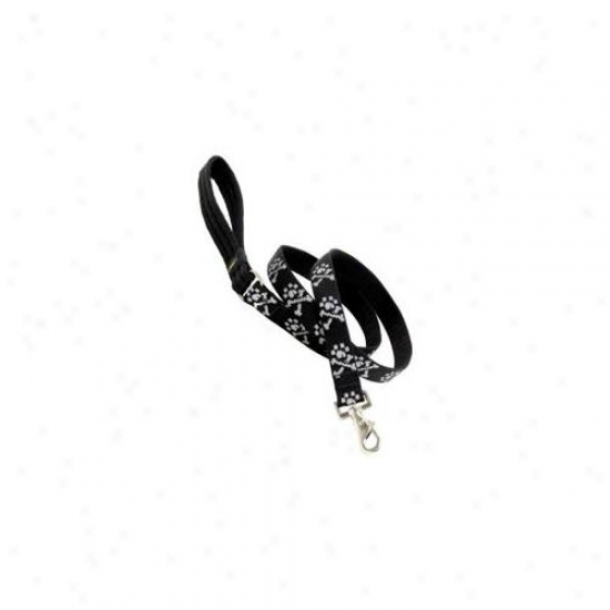 Lupine Inc 1inch X 4ft.  Bling Bonz Sketch Dog Lead  72258