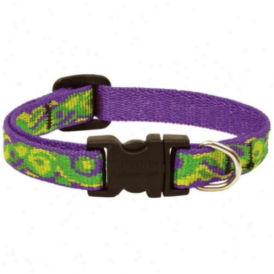 Lupine Inc 98533 6in-9in Big Easy Adjustable Nylon Dog Collar