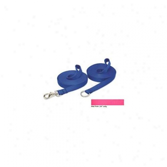 Lupine Pet 746889457439 Hot Pink 30 Ft.  Gate Snap Training Lead