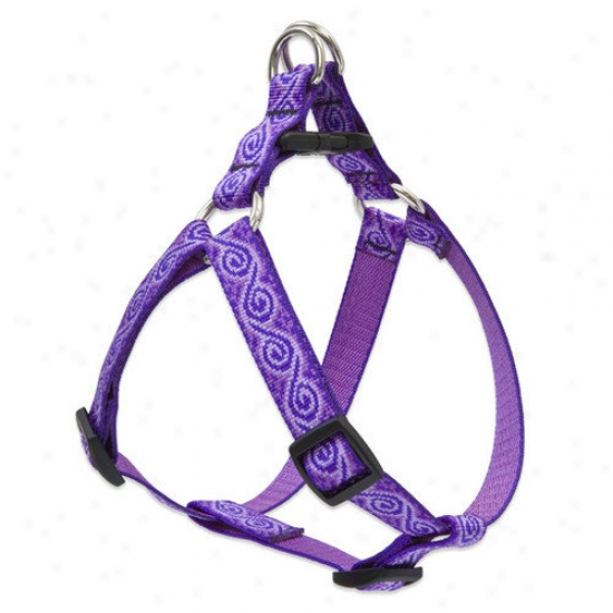 Lupine Pet Jelly Roll 3/4'' Adjustable Mean average Dog Steo-in Harness