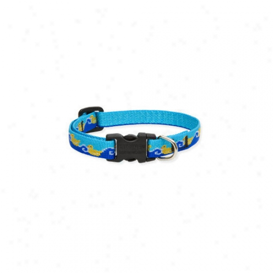 Lupine Pet Just Ducky 1/2'' Adjustable Small Dog Collar