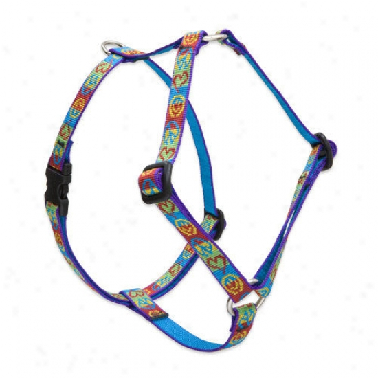 Lupine Pet Peace Pup 1/2'' Adjustable Small Dog Roman Harness