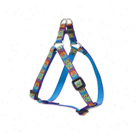 Lupine Pet Peace Pup 1/2'' Adjustabel Small Dog Step-in Harness