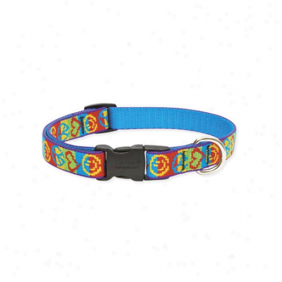 Lupine Pet Peace Pup 3/4'' Adjuusstable Medium Dog Collar