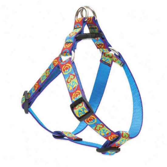 Lupine Pet Peace Pup 3/4'' Adjustable Medium Dog Step-jn Harness