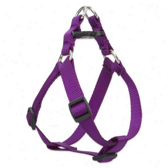 Lupine Pet Solid Color 3/4'' Adjustable Medium Dog Step-in Harness