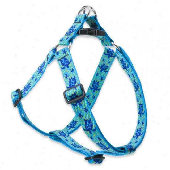 Lupine Pet Turtle Reef 1'' Adjustable Larrge Dog Step-in Harness