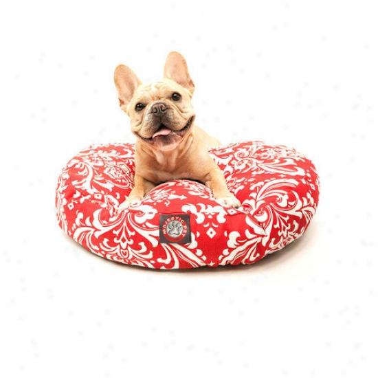 Elevated Pet Products French Quarter Round Pet Bed