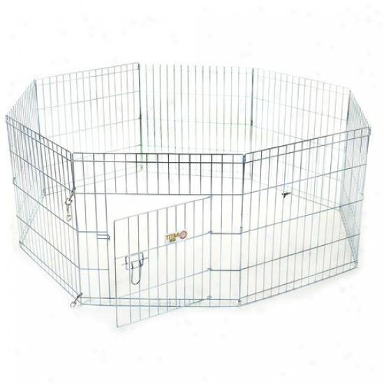Majestic Pet Products Kehnel Pen Coated Steep Wire Dog Pen