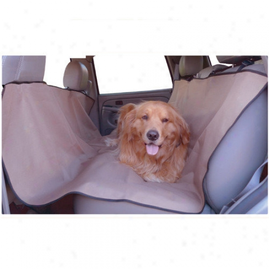 Majestic Pet Products Universal Waterproo fHammock Back Seat Cover In Tan