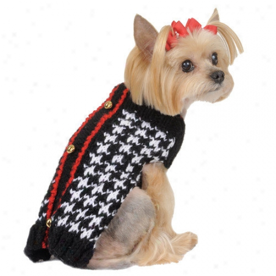 Max's Closet Houndstooth Sweater