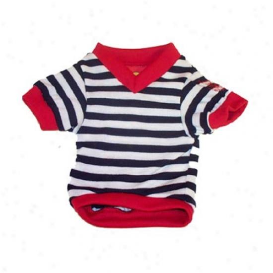 Max's Closet Stripe V Neck Shirt