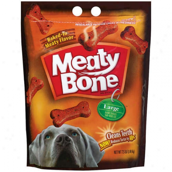 Meaty Bone: Large Dog Snacks, 7.50 Lb