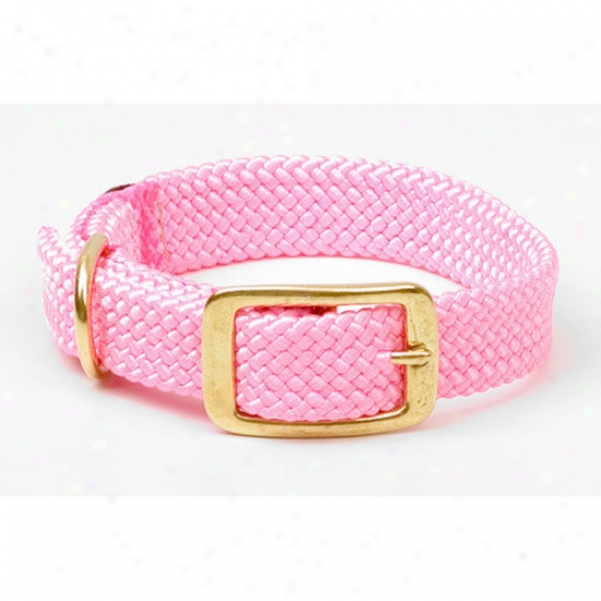 Mendota Double Braid Collar In Hot Pink