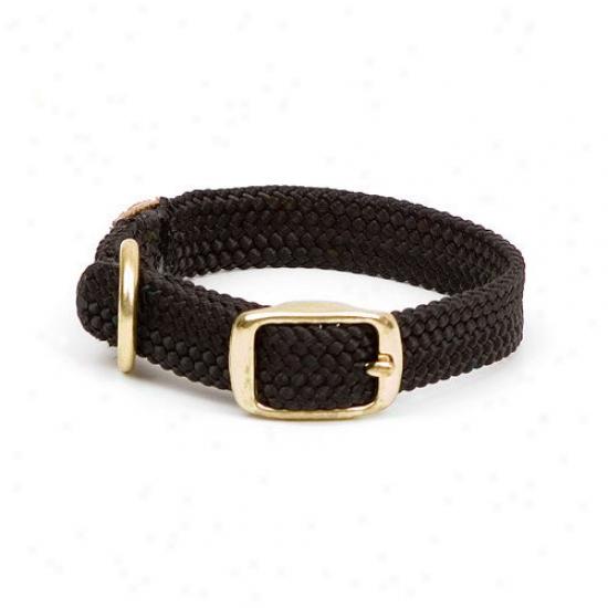Mendota Double Plait Junior Collar In Black