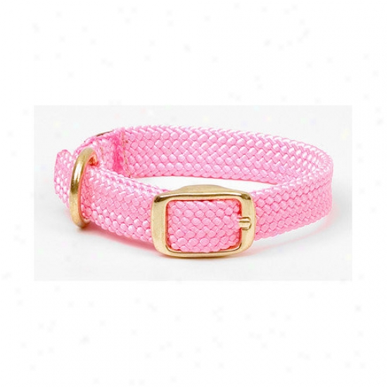 Mendota Double Plait Junior Collar In Very warm Pink