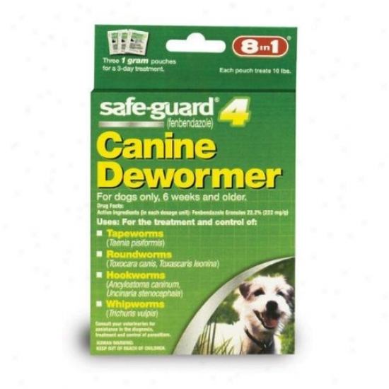 Merck Animal Soundness 034906/001-004107 Guard Dog Wormer