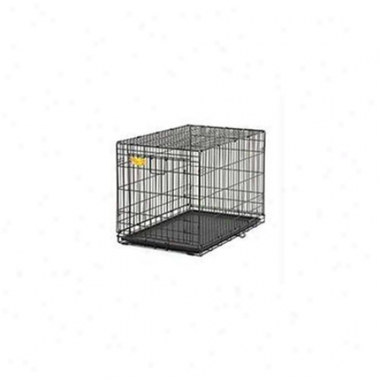 Midwest Container - A. C. E.  Sincere Door Crate- Black 24 X 18 X 19