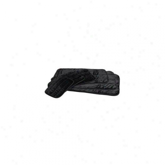 Midwest Container Beds - Deluxe Pet Mat- Black 43 X 28 - 40442-bk