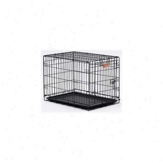 Midwest Container I-crate Black 18 Inch Single - 1518