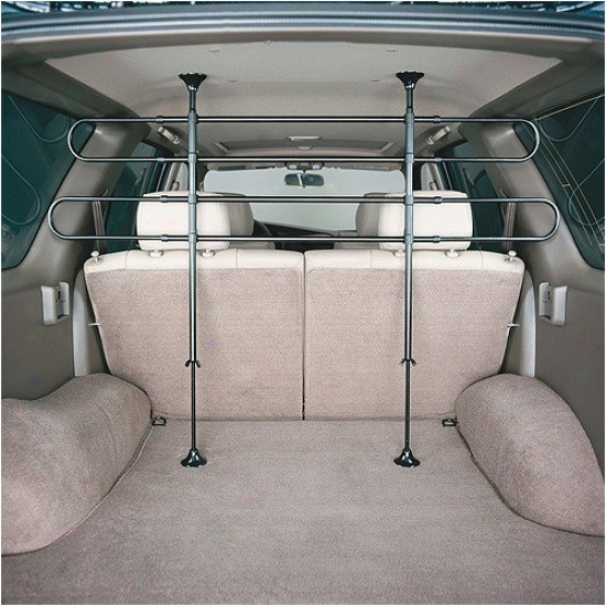 Midwest Homes For Pets 4 Bar Tubular Vehicle Barrier