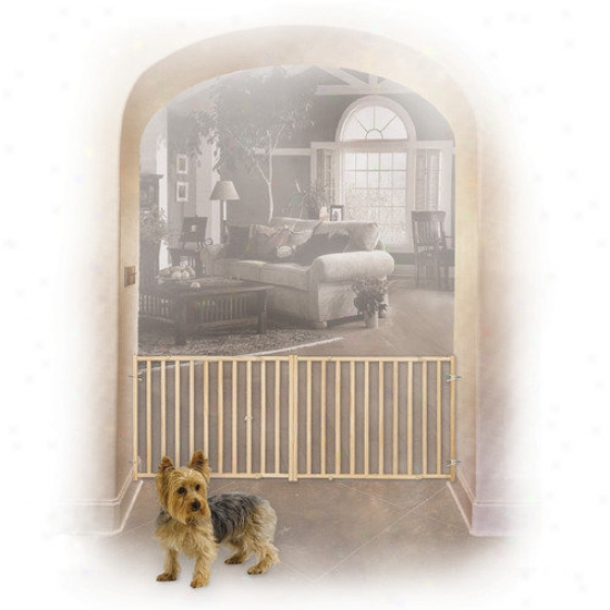 Midwest Homes For Pets Extra-wide Rail And Baluster Pet Gate