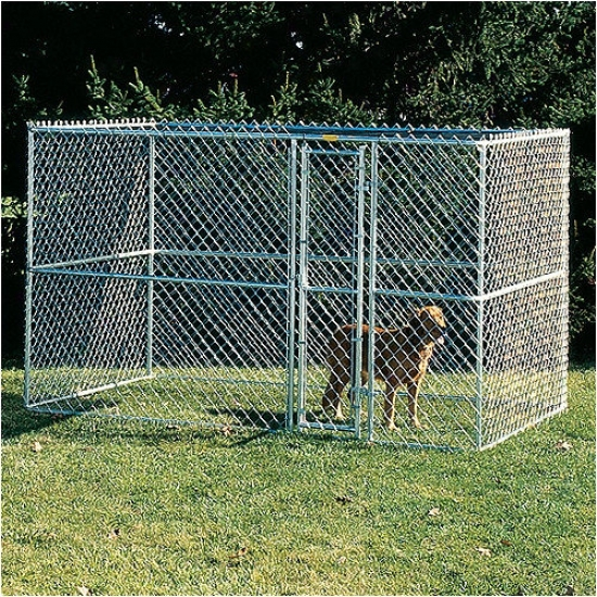 Midwest Homes For Pets Large Chain Link Portable Dog Kennel