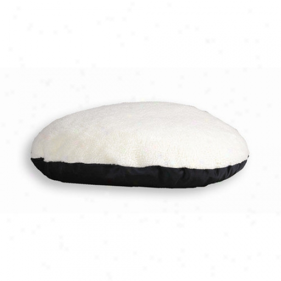 Midwest Homes For Pets Quiet Time E'sensuals Sytnhetic Sheepskin And Poly-cotton Rectangle Dog Bed