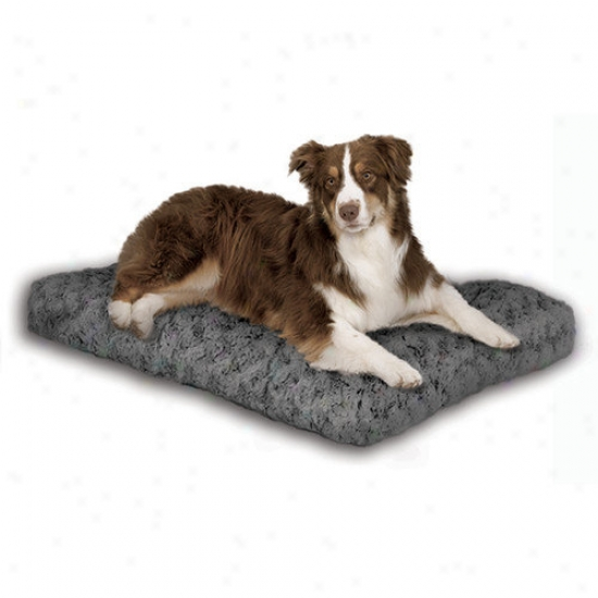 Midwest Homes For Pets Quiet Time Ombre Swirl Dog Bed In Grey